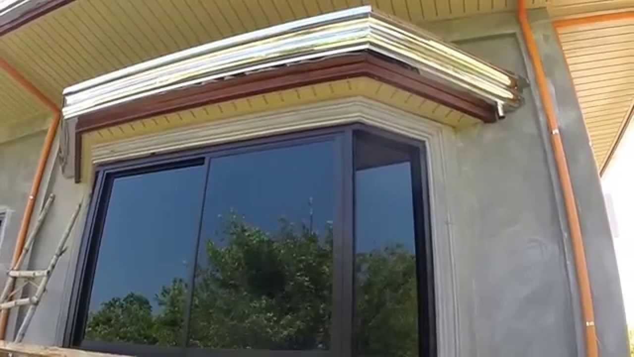 WINDOWS!!!! and Ceiling finally finished - YouTube