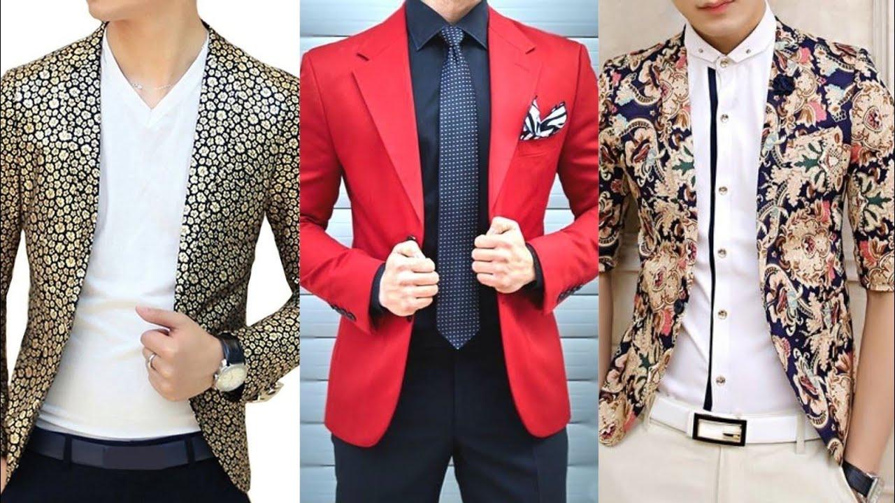 Fancy & Stylish Blazer Design For Men 2020 | Party wear Blazer Design For  Men | Blazer Dress For Men - YouTube