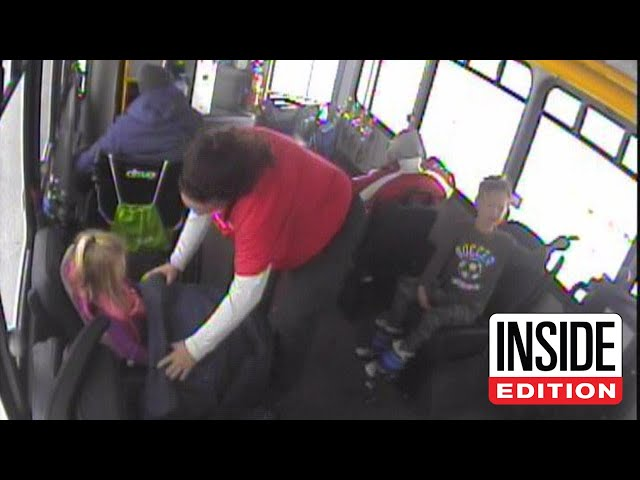 Hero Bus Driver Rescues Lost Kids From Freezing Cold