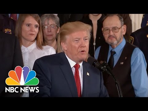 President Trump Shares Story About His Brother's Alcohol Addiction During Opioid Speech   NBC News