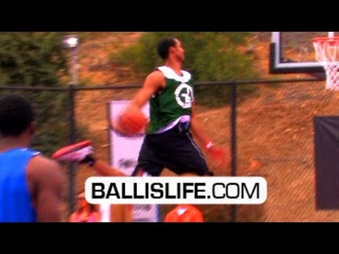 Nate Robinson 360 Alley-Oop, Nick Young EASTBAY; NBA Pros Show Out At Jaime Foxx Charity Game!!