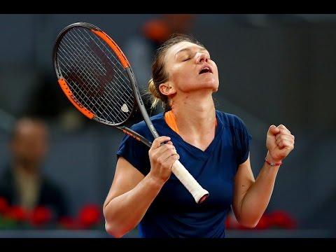 2017 Mutua Madrid Open Semifinals | Simona Halep vs Anastasija Sevastova | WTA Highlights