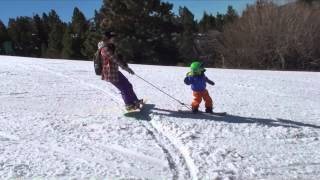 lil kids snowboard 11 let s ride with mom ママと滑ろう