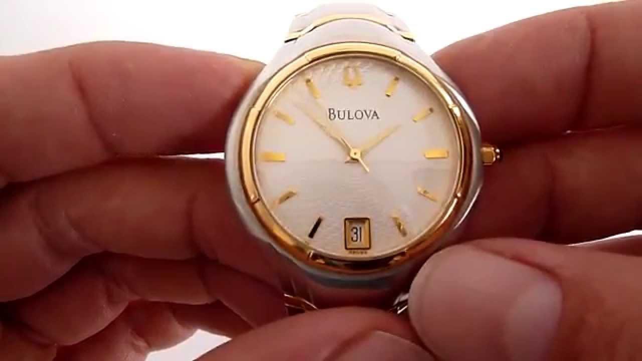 51e35b9919ab (A LA VENTA) Reloj Bulova Para Caballero De Quarzo