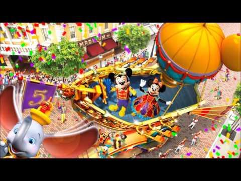 HongKong Disneyland Flight of Fantasy Parade Soundtrack