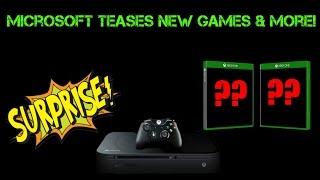 Fantastic! Microsoft Teases New Games, Xbox Live Improvements & Xbox Scorpio Announcements!