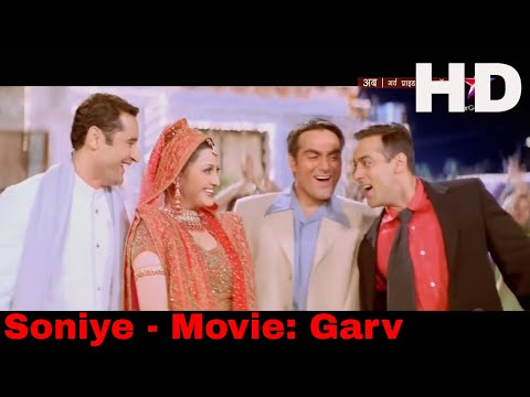 Soniye Tu Soniye Meri Jaan Lagti Full Song - Garv (1080p HD Blu-ray) #Akram Khan