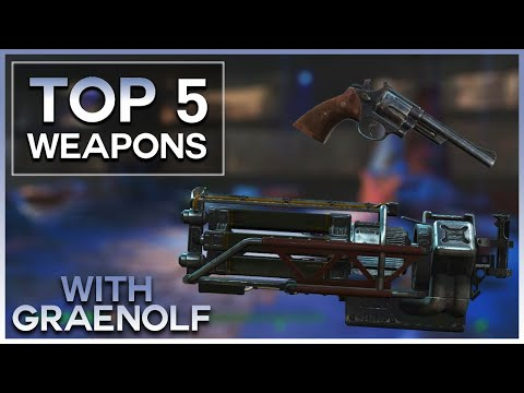 Fallout 4 - TOP 5 WEAPONS IN NUKA WORLD DLC! |