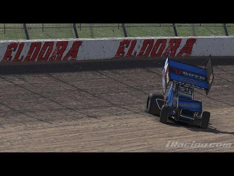 iRacing || DIRTcar 360 Sprint Car Series 2017S2 @ Eldora Speedway