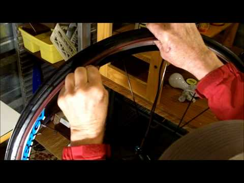 How to install a bicycle tire liner