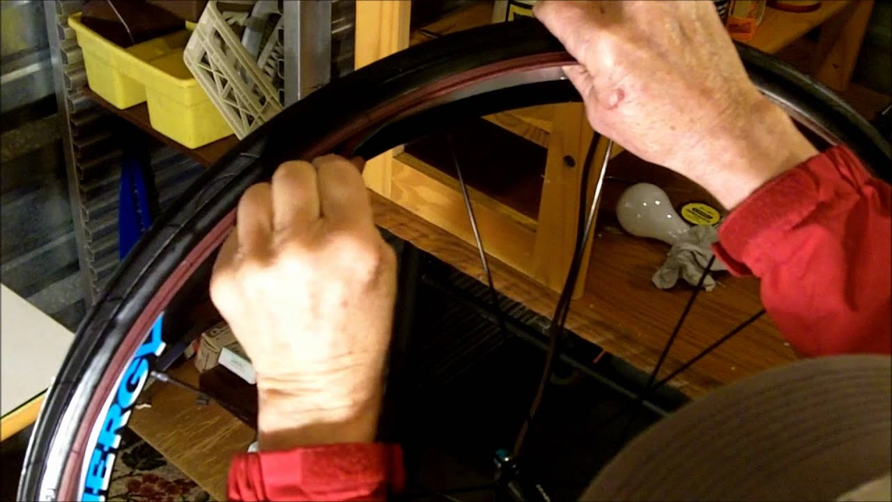 c8392180ad1 How to install a bicycle tire liner - YouTube