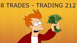 8 TRADES IN 1 EPISODE - Trading 212 Forex Trading #39