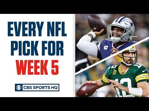 Brady Quinn and Pete Prisco make EVERY WEEK 5 NFL Pick | CBS Sports HQ