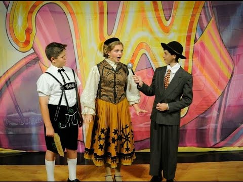 Willy Wonka Live- Augustus Gloop- I Eat More (Act I, Scenes 4 and 5)