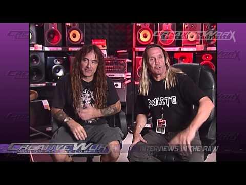 Iron Maiden - Steve Harris &  Nicko McBrain Interview