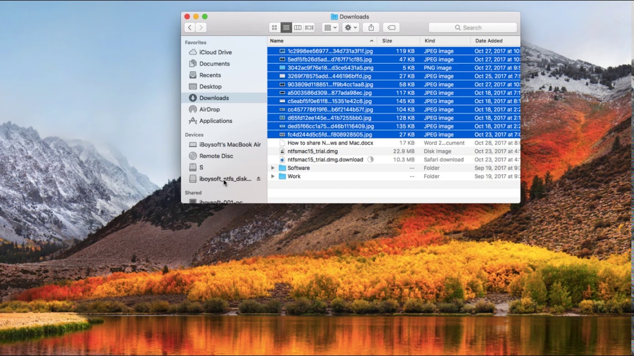 How to copy files from Mac to NTFS external hard drive ...