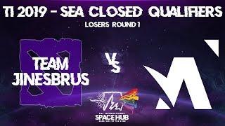 Jinesbrus vs Amplfy Game 1 - TI9 SEA Regional Qualifiers: Losers' Round 1
