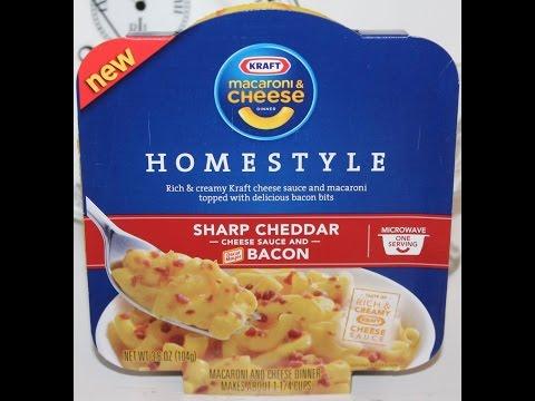 Kraft Homestyle Sharp Cheddar Cheese Sauce & Bacon Review thumbnail