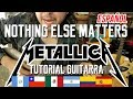 Nothing Else Matters - Metallica - Tutorial - Guitarra - Intro - Como tocar