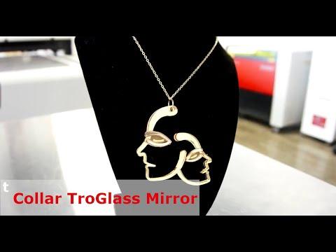 Colgante de TroGlass Mirror hecho con la Speedy 360 flexx (Mirror Edition)
