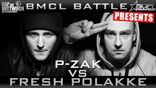 BMCL RAP BATTLE: P-ZAK VS FRESH POLAKKE (BATTLEMANIA CHAMPIONSLEAGUE)