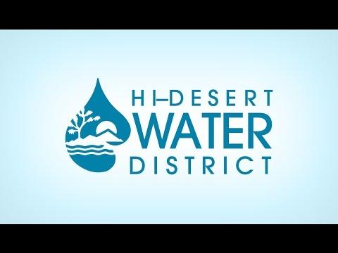 2017-05-17 Hi-Desert Water District Board Meeting