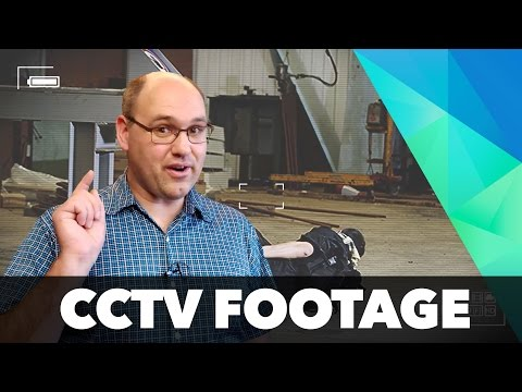 How to create CCTV-style footage in HitFilm