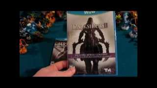 Unboxing Darksiders II for Wii U