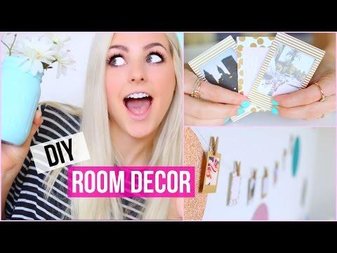 Make Your Room Pretty! DIY Room Decor Ideas!   Aspyn Ovard