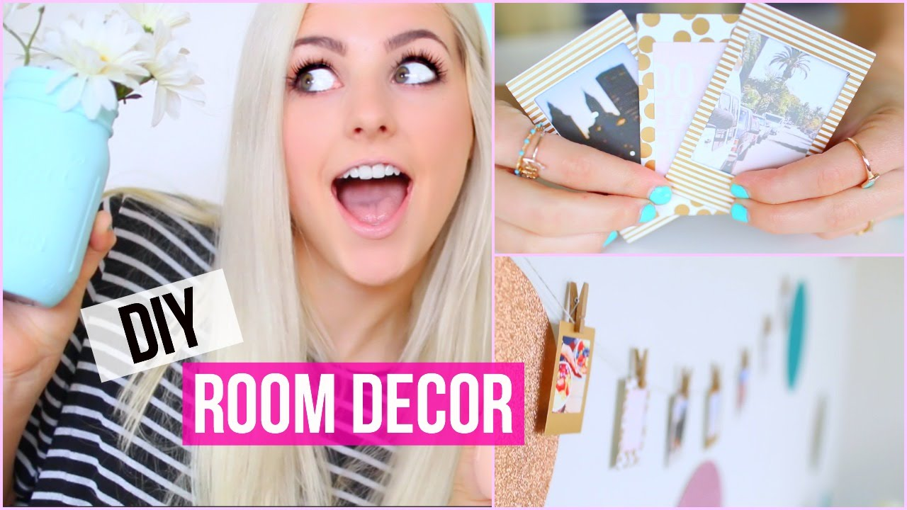 Make Your Room Pretty DIY Room Decor Ideas Aspyn Ovard YouTube