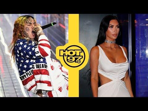 Tekashi 6ix9ine Pleads Not Guilty + Kim Kardashian Says She Was On Ecstasy During Sextape