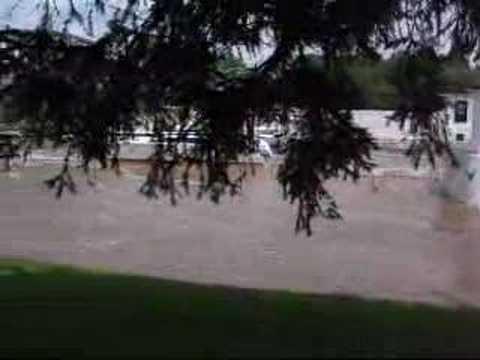 Mohawk River Flooding @ Lock E8 June 2006