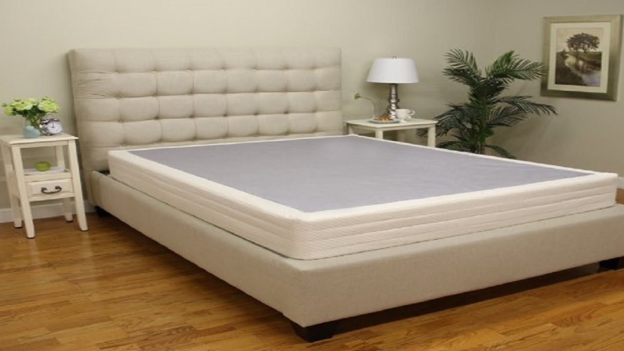 easy to assemble box spring youtube. Black Bedroom Furniture Sets. Home Design Ideas