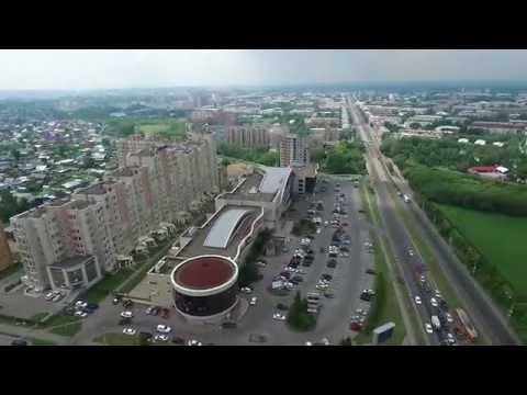 Кемерово Цирк Набережная Томь Квадрокоптер DJI Phantom аэросъемка