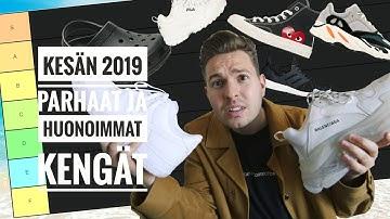 Nämä ovat kesän 2019 parhaat ja huonoimmat kengät!