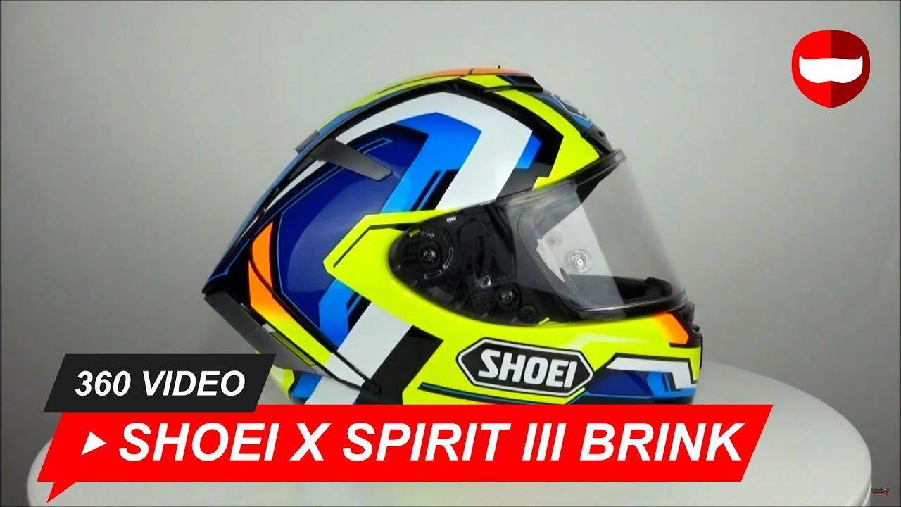 95dcbcc07d1 Shoei X Spirit III Brink TC-10 Helmet Unboxing - ChampionHelmets com -  YouTube