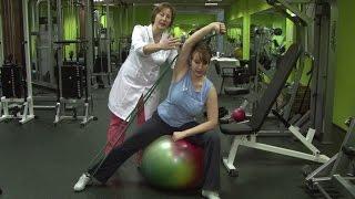 видео Упражнения при межреберной невралгии, гимнастика при межреберной невралгии и остеохондрозе