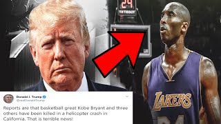 NBA Players and Celebrities React to Kobe Bryant's Tragic Death