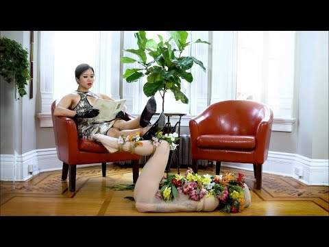 """Latex catsuit by """"Polymorphe"""" Latex Fashion with Emilie Laverdière and Jasmine Virginia from YouTube · Duration:  52 seconds"""