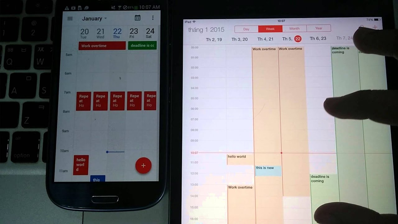 Phone Sync Calendar With Android Phone icloud calendar sync how to on android phone phone