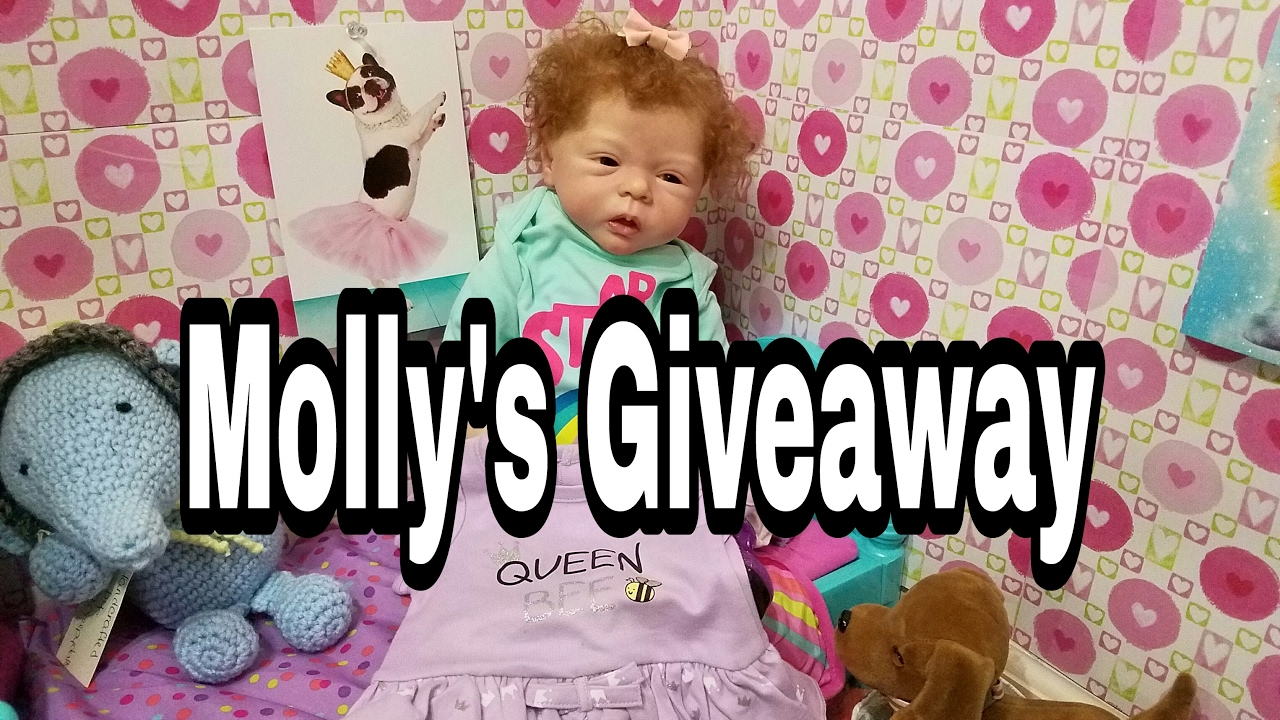 Free Stuff Molly S Giveaway Talking Reborn Baby Doll