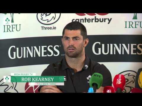 Irish Rugby TV: Rob Kearney & Michael Kearney