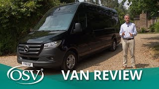 Mercedes Sprinter 2018 in-Depth Review | OSV Van Reviews