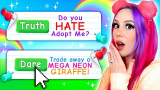 I Played Adopt Me TRUTH or DARE!! Roblox Adopt Me