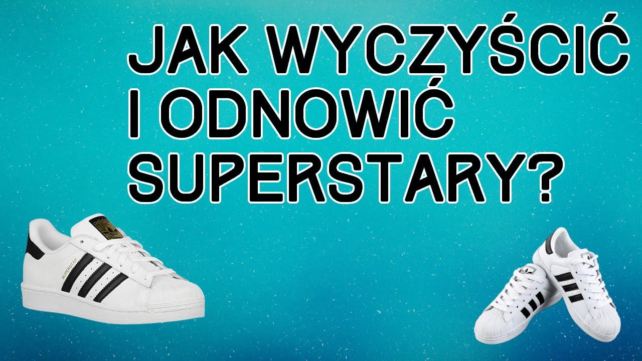 wylot butik wyprzedażowy różne style Jak wyczyścić i odnowić Superstary? Adidas Superstar I inne buty skórzane.