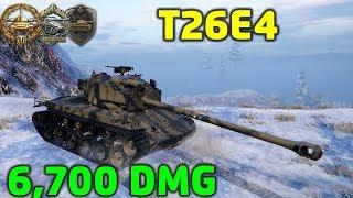 World Of Tanks | T26E4 Super Pershing - 6700 Damage - 8 Kills