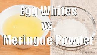 Egg Whites vs. Meringue Powder (Home Cooking 101) DiTuro Productions