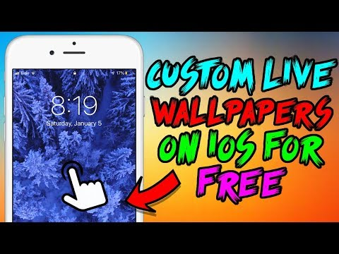 Get Custom Live Wallpapers FREE on iOS 12! (NO Computer)