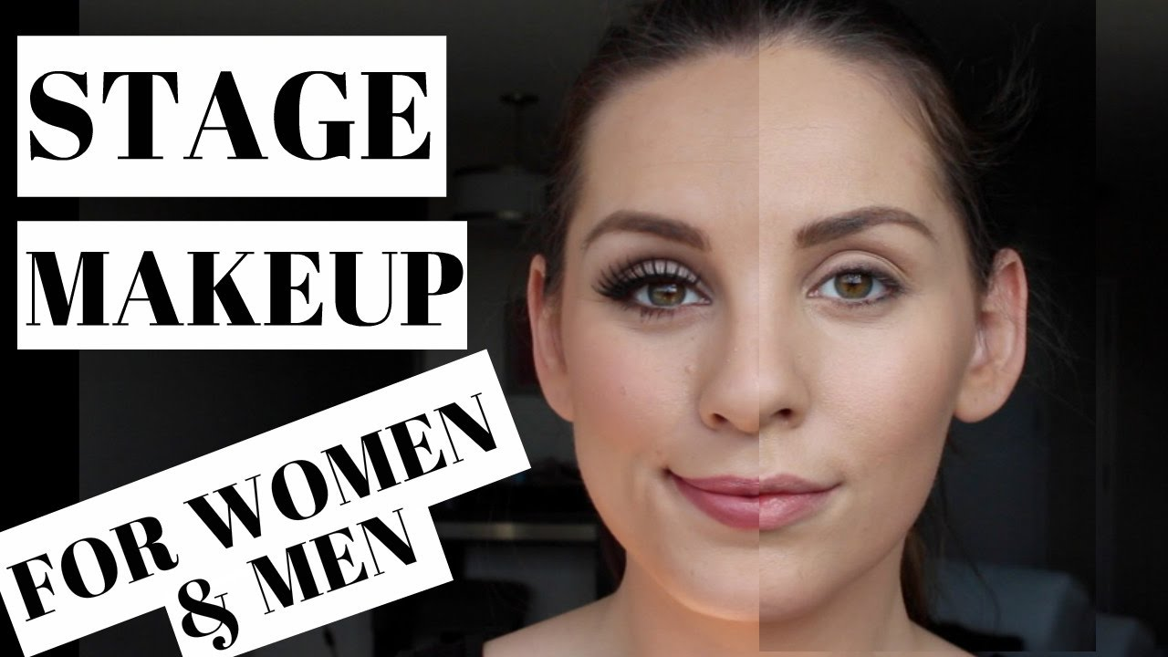 Basic Stage Makeup for Men AND Women