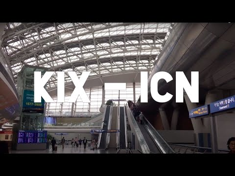 Arriving at Incheon International Airport | South Korea